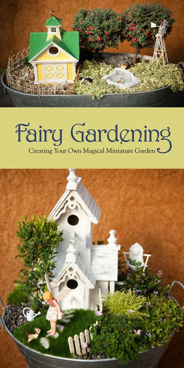 How to Choose a Theme for Your Fairy Garden