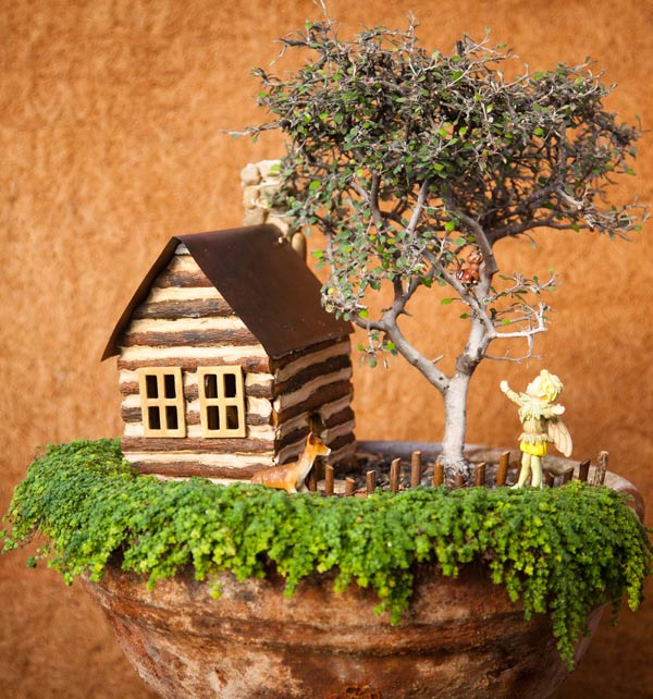 Fairy Gardening: Creating Your Own Magical Miniature Garden by Julie Bawden-Davis and Beverly Turner provides step-by-step instructions for creating a magical garden. Learn how to design, plant, accessorize, and care for your very own small corner of the world.
