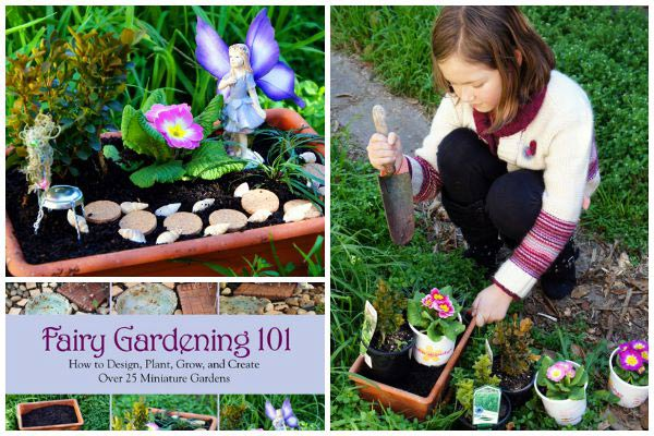 Fairy Gardening 101: How to Design, Plant, Grow, and Create Over 25 Miniature Gardens by Fiona McDonald provides you with all the information necessary to design, plant, and care for your very own miniature garden oasis.