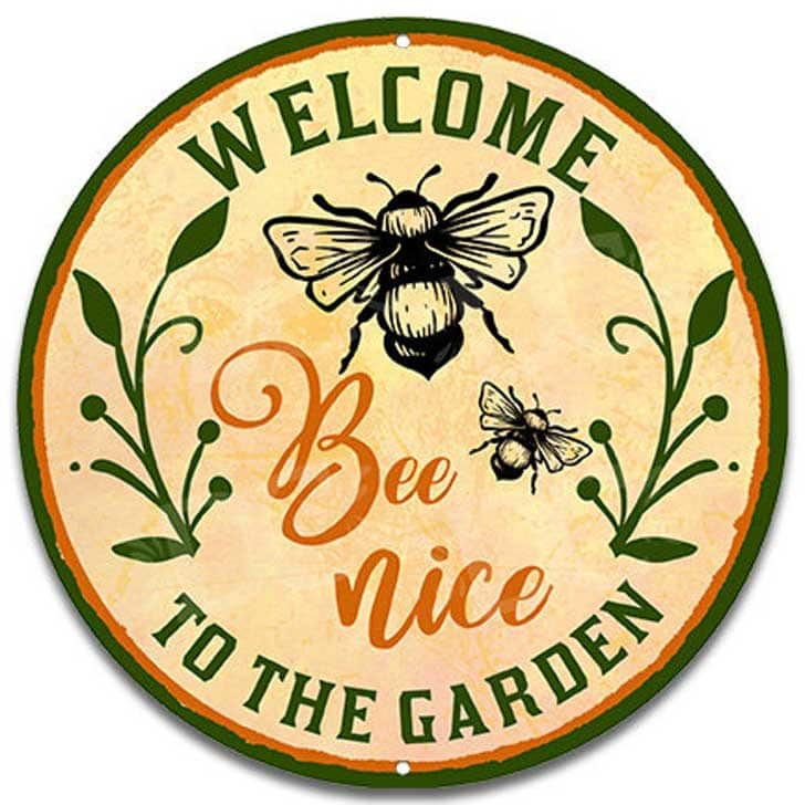 Bee Nice sign by DCdesignsUSA on etsy