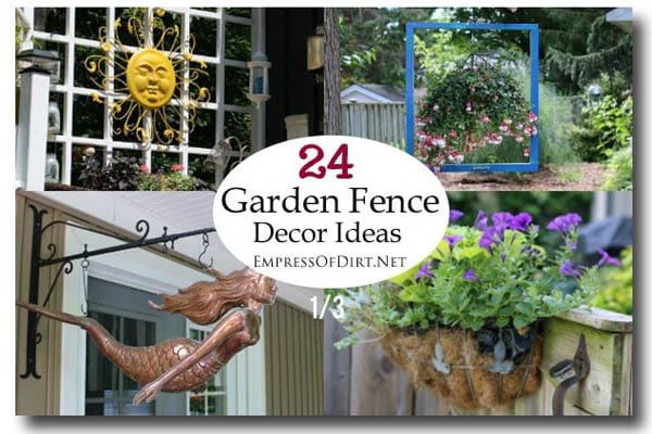 24 Garden Fence Decor ideas