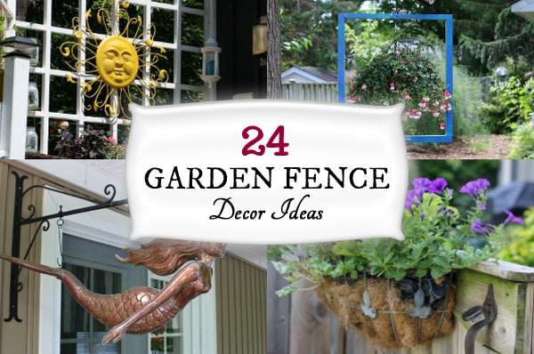 24 Creative Ideas for Garden Fence & Wall Decor