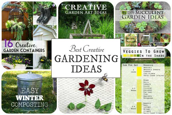 Creative Garden Ideas 27 best creative gardening ideas of the year empress of dirt 27 best creative gardening ideas of the year workwithnaturefo