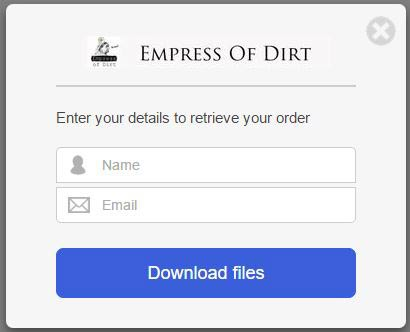 The SendOwl checkout and download process