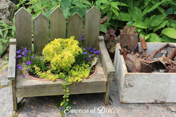 Mini Bench Planter