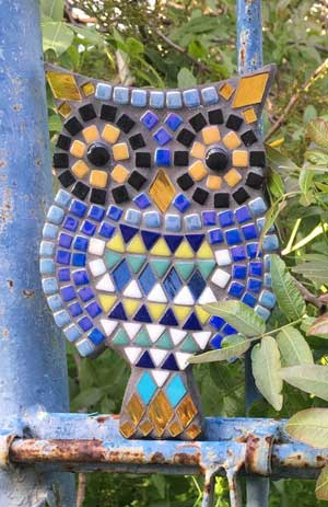 Mosaic owl kit