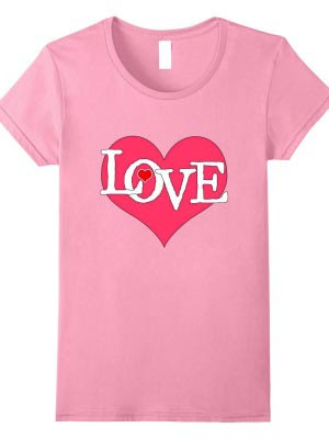 LOVE t-shirt by Empress of Dirt on Amazon