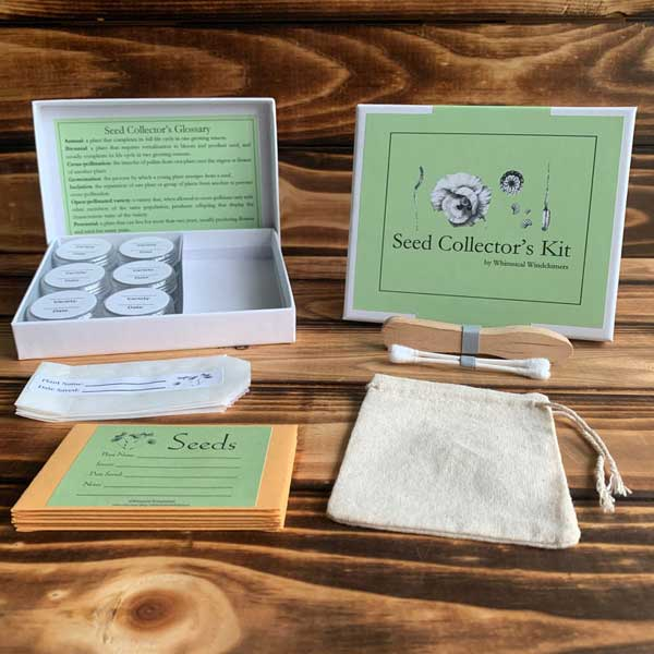 Seed collector kit from Etsy