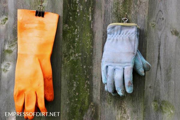 Glove Hangers