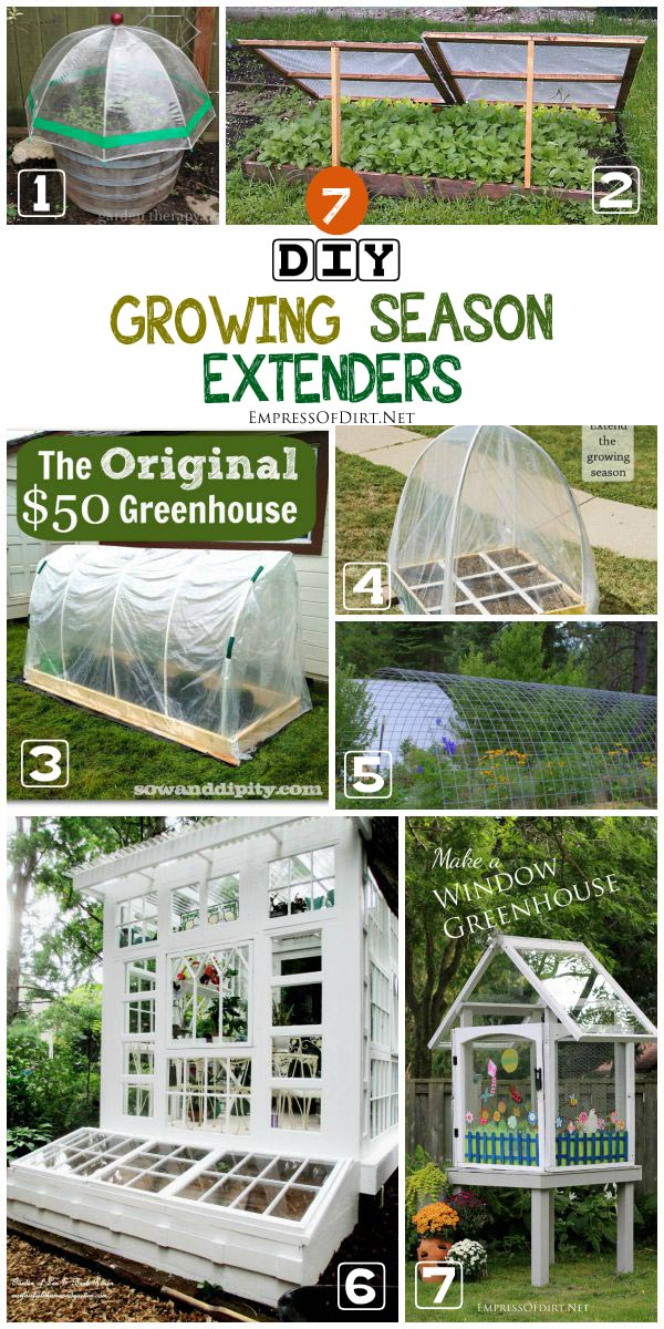 Diy Mini Greenhouse Seed Starting