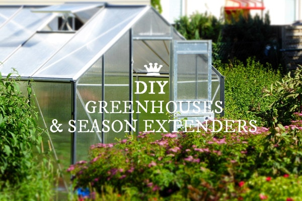 DIY Greenhouses and season extenders