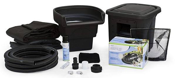 Aquascape backyard pond kit.