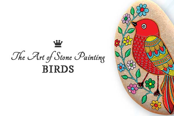 The Art of Stone Painting - tutorial on creating designs on stones