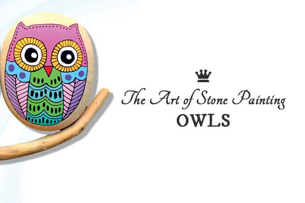 The Art of Stone Painting | Owls