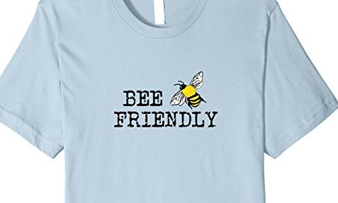 Bee friendly t-shirt by Empress of Dirt