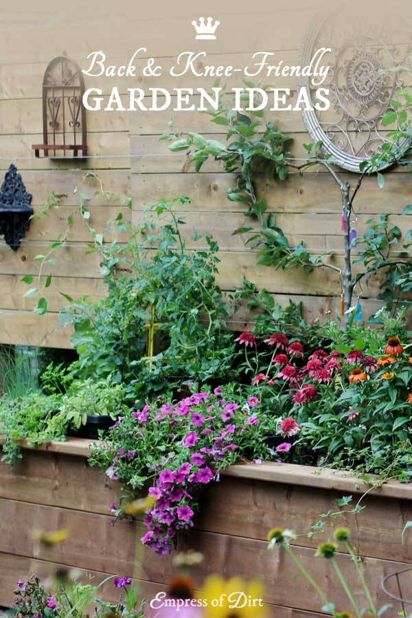 Back & Knee-Friendly Garden Ideas