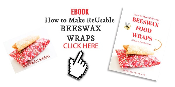 How to make reusable beeswax wraps ebook by Melissa J. Will.