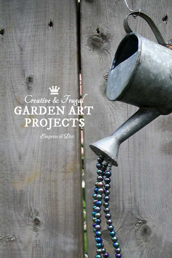 Creative and frugal garden art projects for your home and garden.