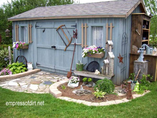 Want inspiration for your dream shed? If you're thinking of building a garden shed, renovating one you have, or simply love tiny buildings, this gallery is for you. There's so many choices for layout, design, windows, doors, and basic building materials.