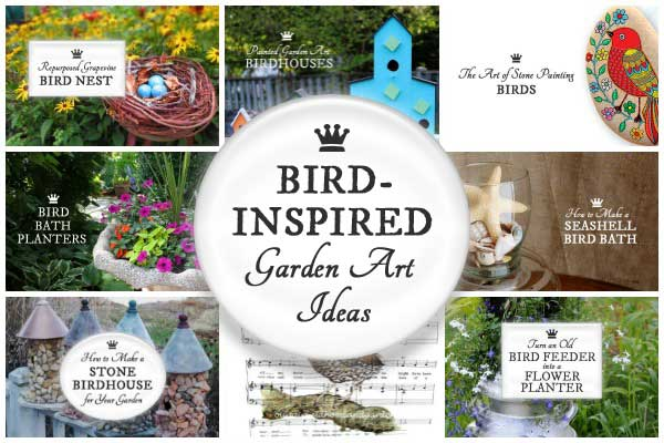 Bird-Inspired Garden Art Ideas