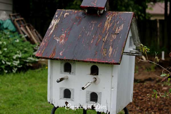 Martin birdhouse
