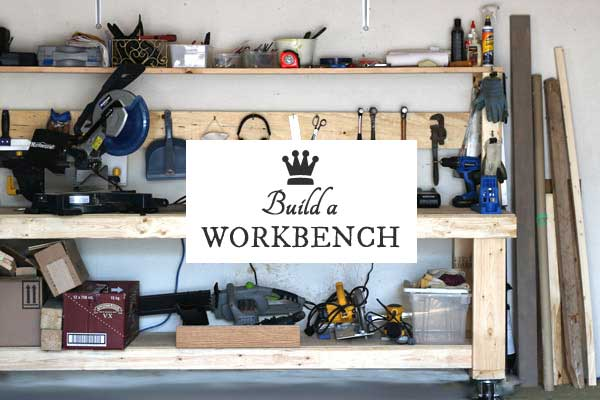 Build A DIY Workbench