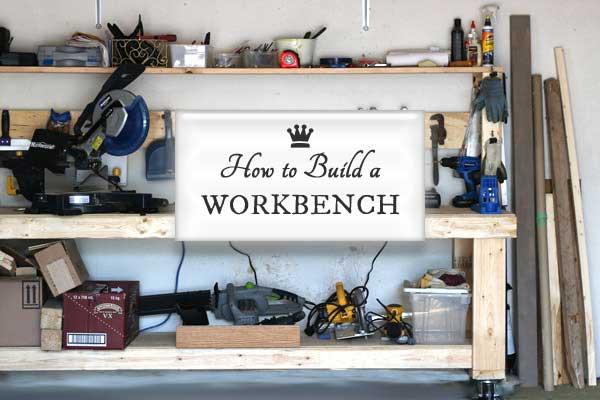 Build a DIY Workbench On Wheels