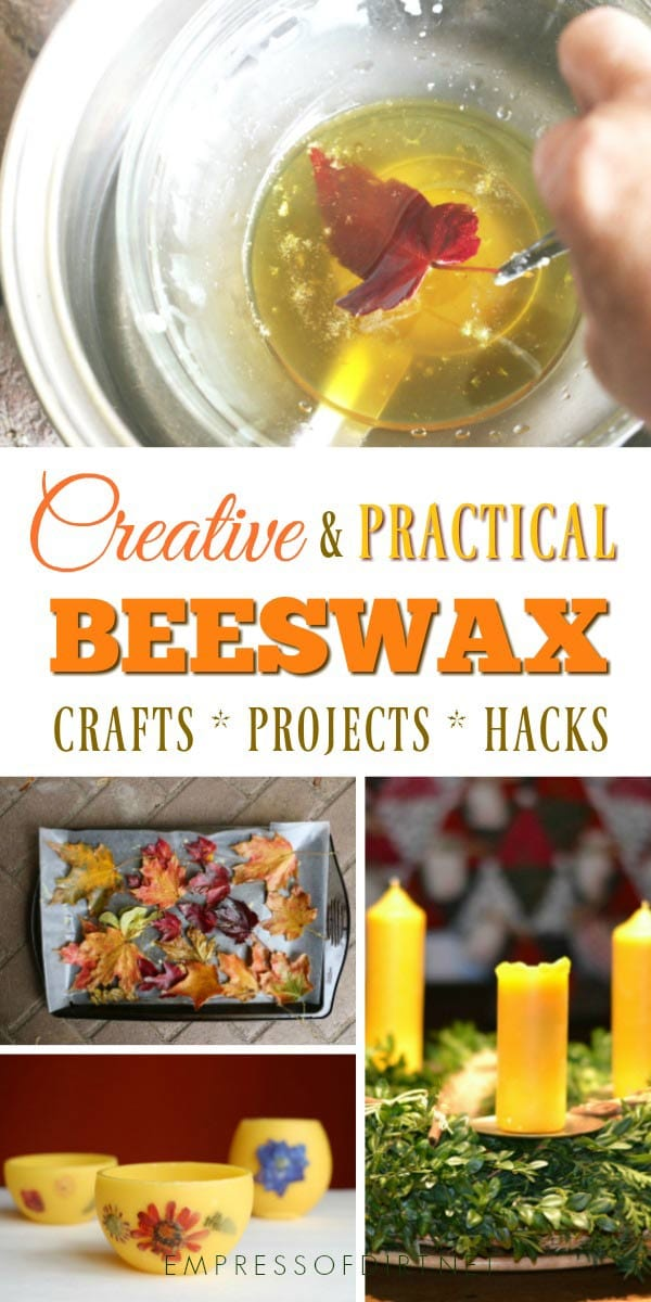Beeswax is useful for a number of practical and creative reasons from protecting shoes to creating candles and more.