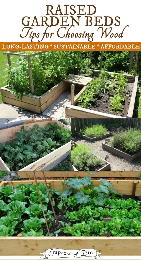 best wood for raised garden beds empress of dirt ForBest Wood For Raised Garden Beds