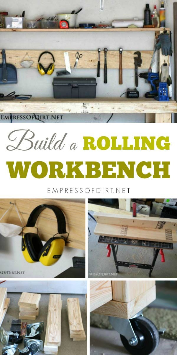 DIY projects are a whole lot easier when you have a good workbench.