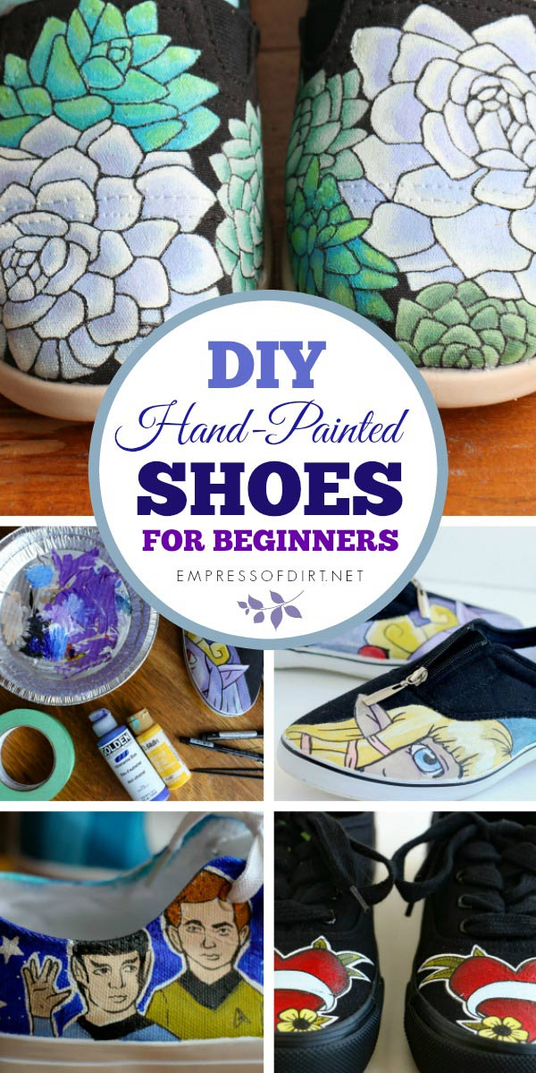 How to Paint Shoes | Resources