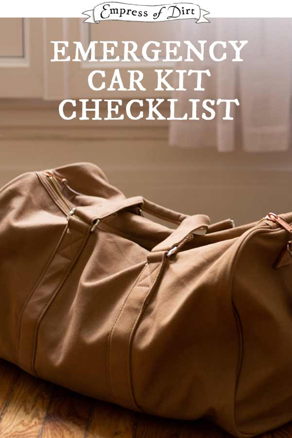 Do you keep an emergency kit in your car? They can be lifesavers. Or, if we're lucky, nothing more than good things to have on hand in an unexpected situations. Either way, it's smart to have basic supplies in your vehicle and replenish them as needed.