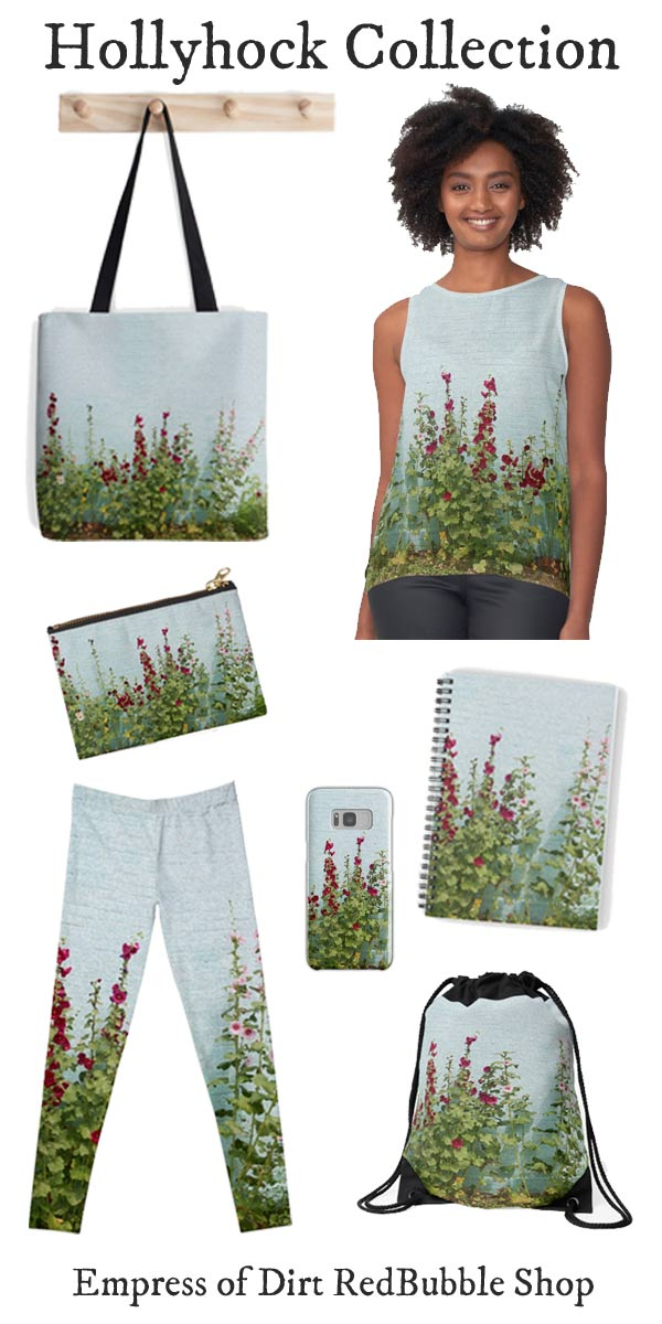 Hollyhock Collection by Empress of Dirt RedBubble Shop