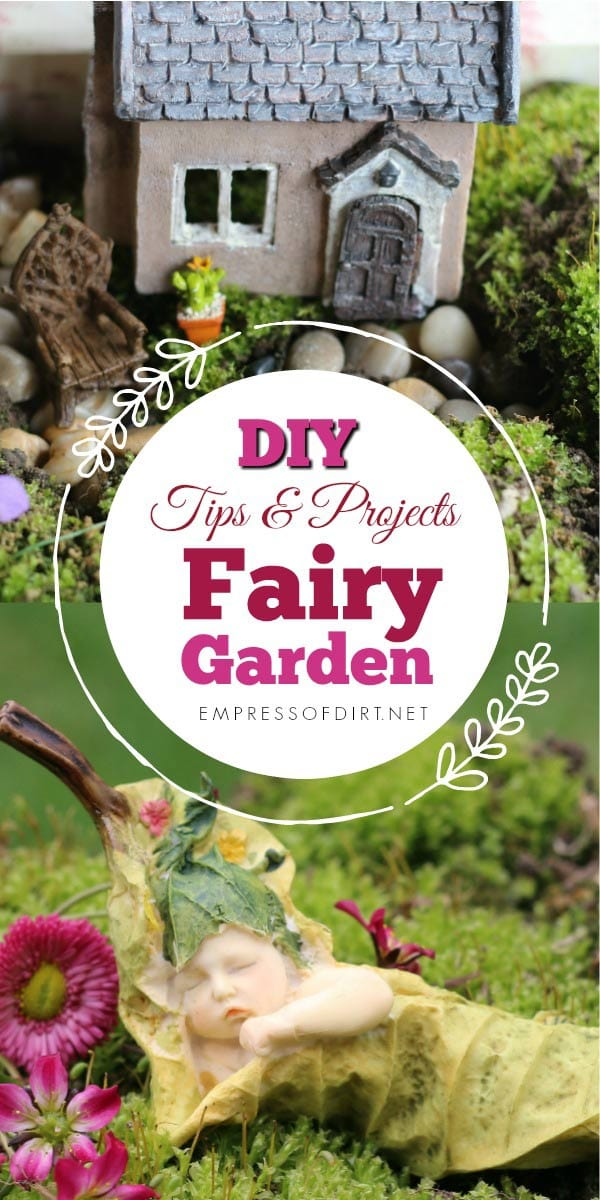 There are some many ways to make a fairy garden enchanting. These ideas show ways to kick it up a notch by choosing a theme, understanding scale, and making a watering can fountain that really works.