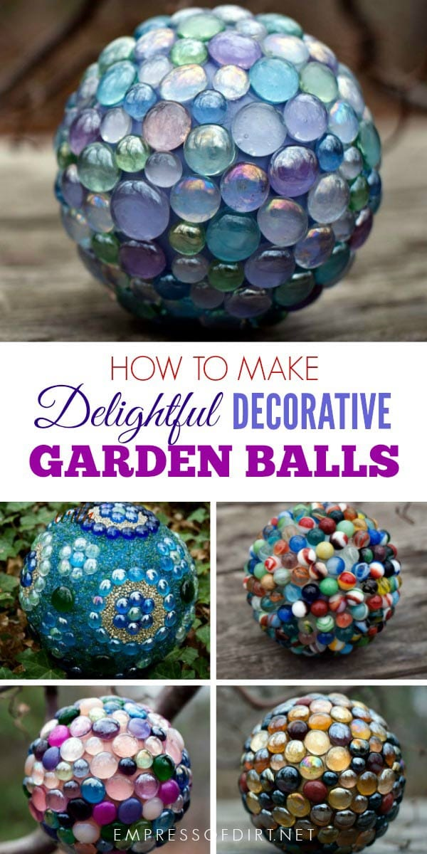 How to make delightful decorative garden balls for your outdoor space.
