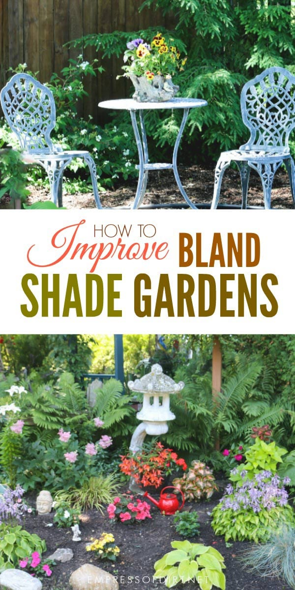 How to brigthen up your garden with colorful plants, furniture, and decor.