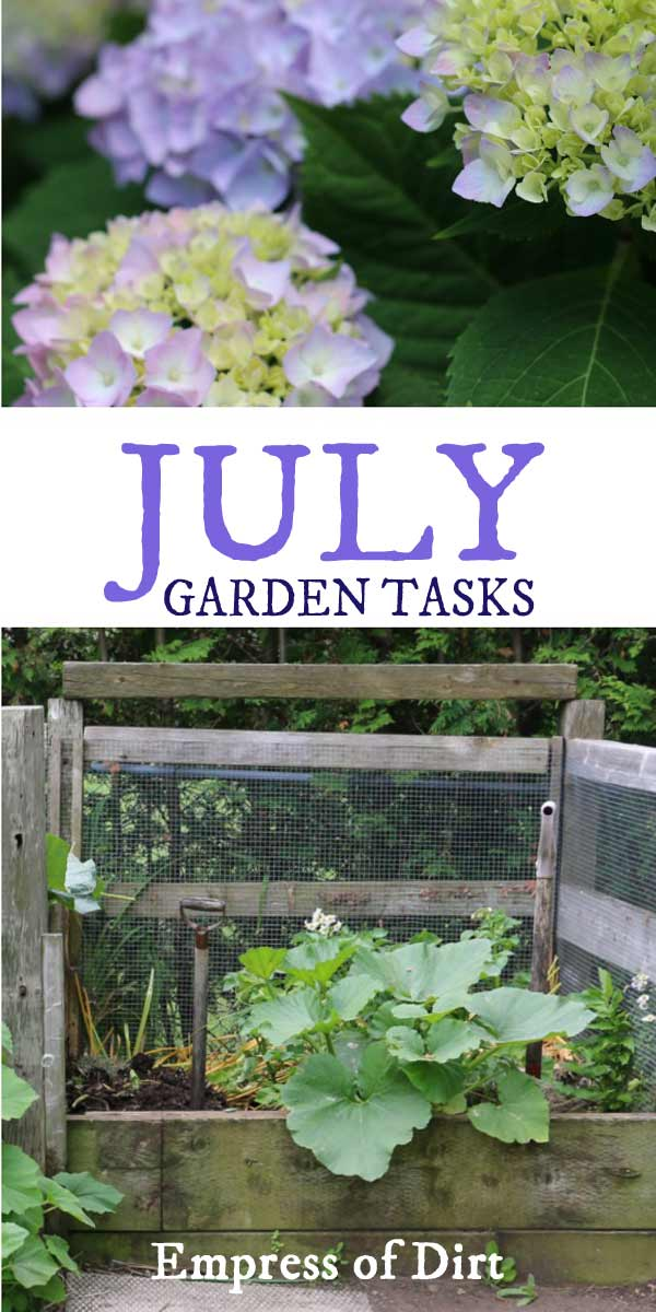 July Garden Tasks | What to Make and Grow