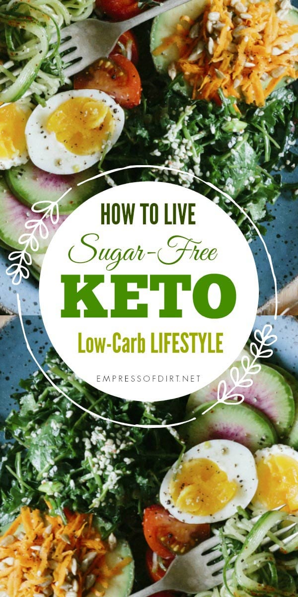 Learn how to give up sugar, feel better, and break addiction to sweets with a low-carb ketogenic lifestyle.