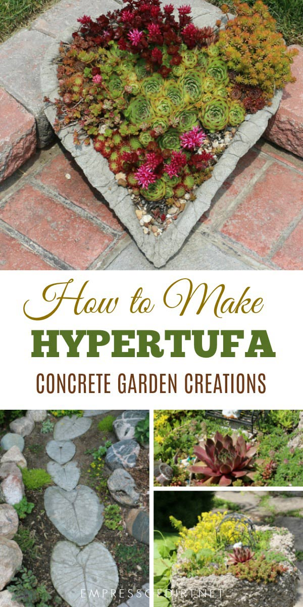 Make Your Own Creative Garden Pots! Hypertufa Is Made From A Combination Of  Cement And