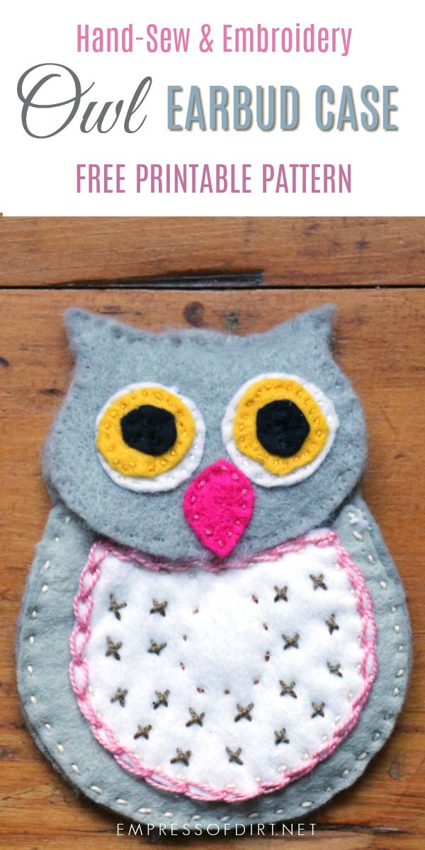 DIY Wool Felt Owl Earbud Case | Free Pattern | Empress of Dirt Homemade Shoe Designs Owls on brazilian owls, russian owls, asian owls, huge owls, valentine's owls, baby owls, craft wood owls, drunk owls, tasty owls, kissing owls, fun owls, girl owls, pretty owls, holiday crafts to make owls, young owls, bizarre owls, family owls, home owls, fat owls, black owls,