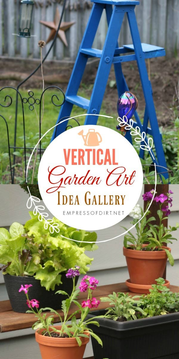 When garden space is limited, grow up! These vertical gardening ideas share ways to make the most of the space you have and define outdoor living areas with arbors, repurposed ladders, hanging containers, and more.