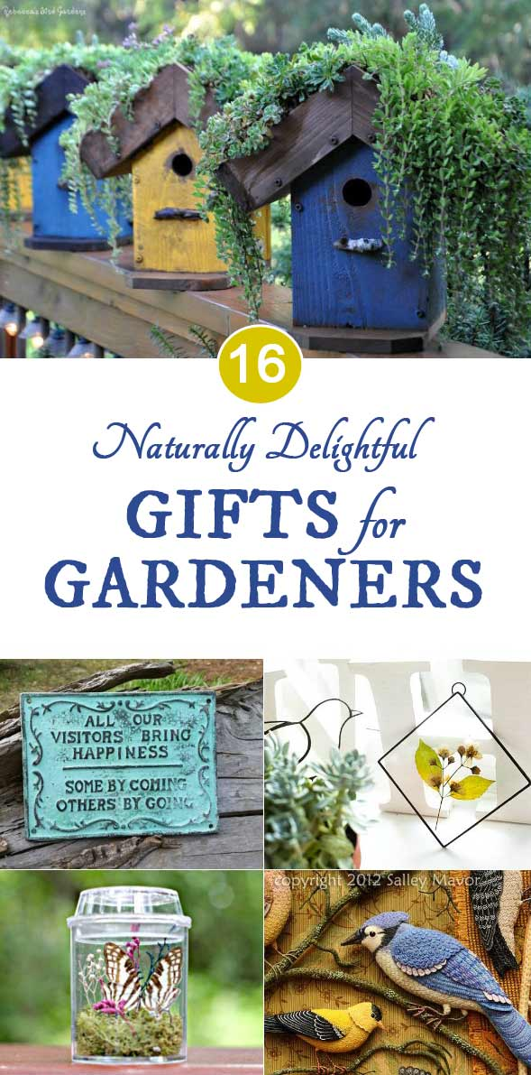 Naturally Delightful Gifts for Gardeners at Etsy