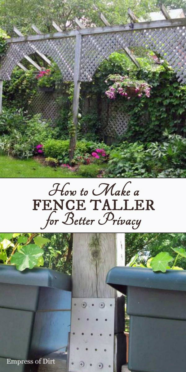 If you want to make a fence taller for privacy, these fence extension ideas will help. There are several ways to add height to an existing fence, and block out your neighbours from peering into your yard.