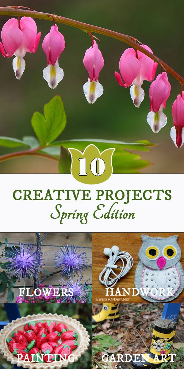 These craft and DIY ideas are perfect for spring while you're waiting for full-on gardening season.