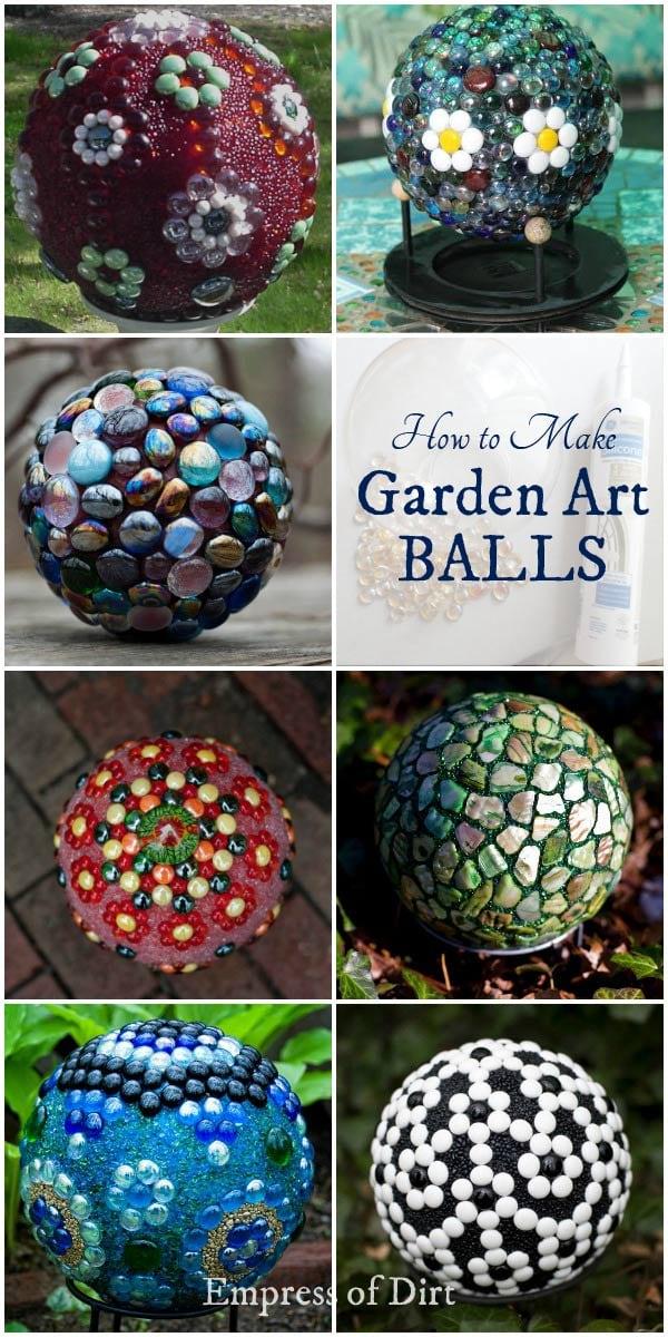 How To Make Decorative Balls Mesmerizing Diy Decorative Garden Ball Tutorial  Printable  Empress Of Dirt Design Inspiration