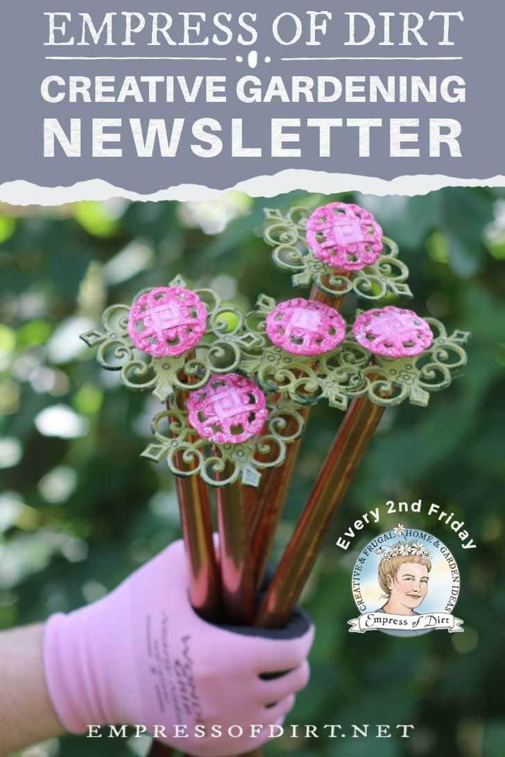 Empress of Dirt Creative Gardening Newsletter