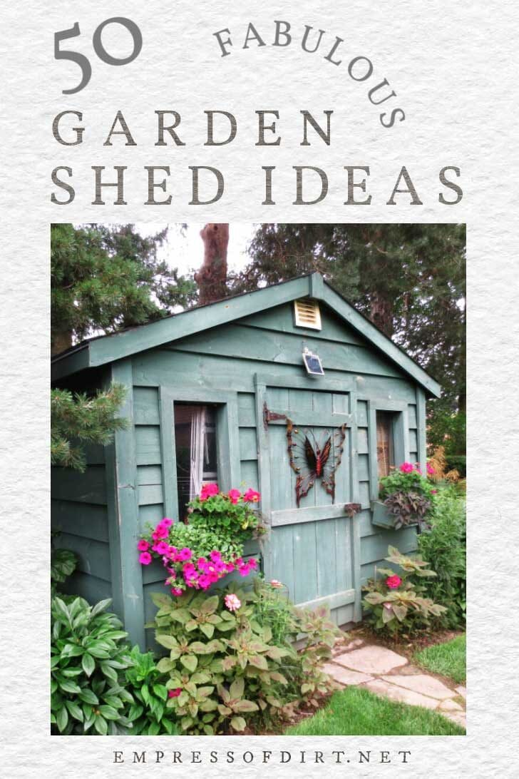 50 Creative Garden Shed Ideas