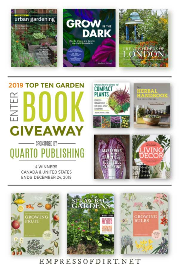 10 Best 2019 Garden Books | Giveaway