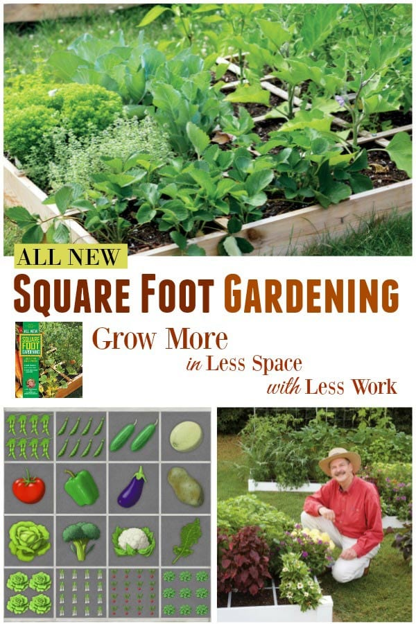 The All New Square Foot Gardening Book by Mel Bartholomew.
