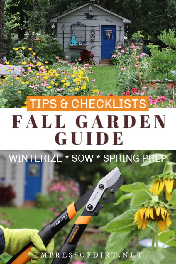 Fall Garden Guide | Tips and Checklists